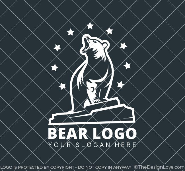 grizzly-bear-Pre-Designed-Logo