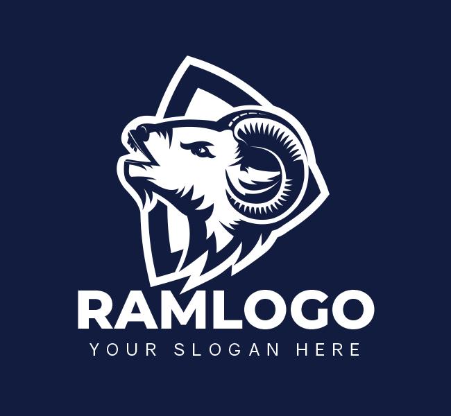 445B-Ram-Pre-Designed-Logo