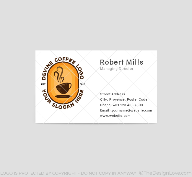 Devine-Coffee-Business-Card-Front