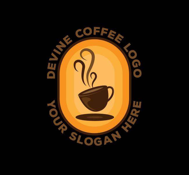 Devine-Coffee-Startup-Logo