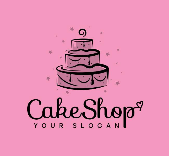 510-Cake-Pre-Designed-Logo