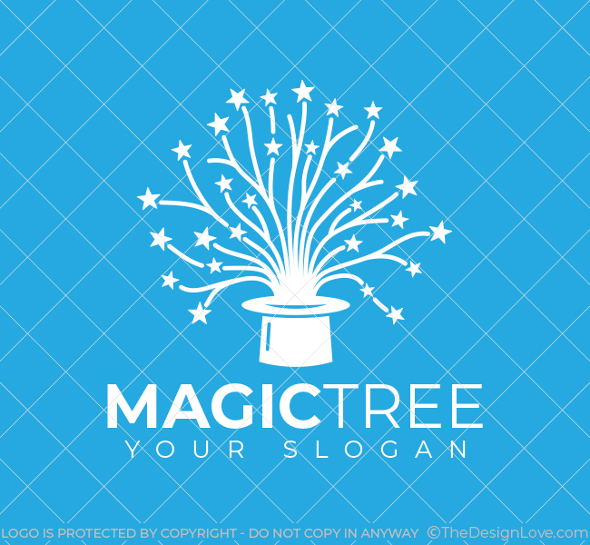 511-Magic-Tree-Pre-Designed-Logo