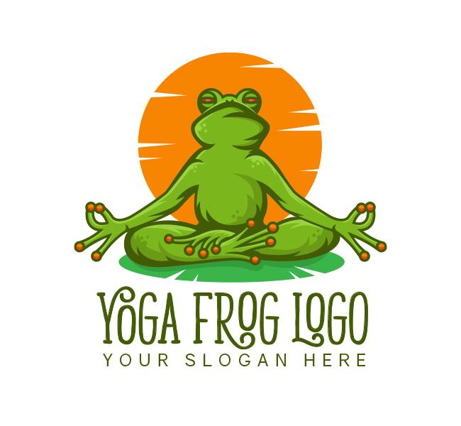 Frog Yoga Logo