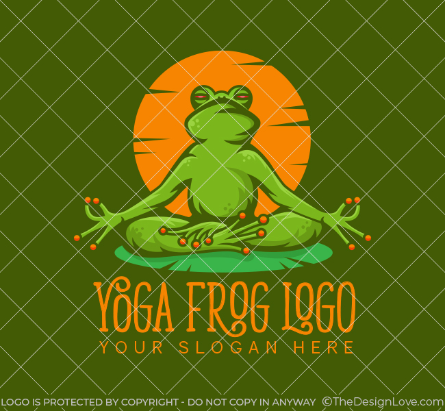 517A-Frog-Yoga-Start-up-Logo
