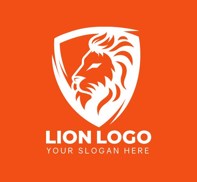 518-Lion-Pre-Designed-Logo