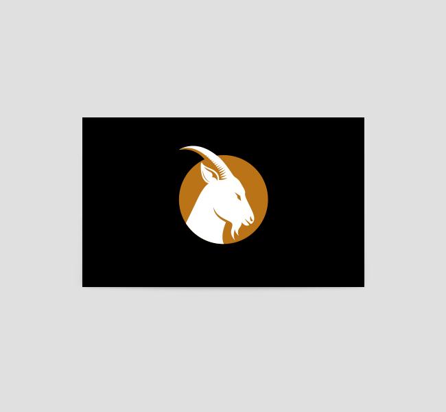 519-Goat-Business-Card-Back