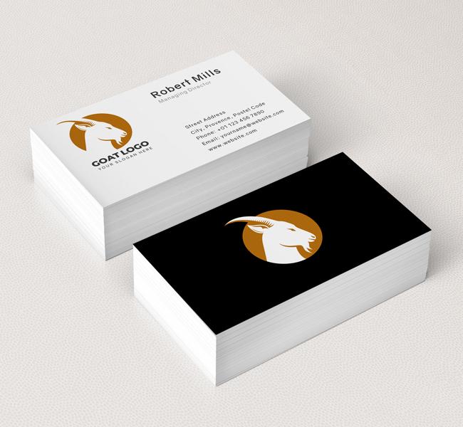 519-Goat-Business-Card-Mockup