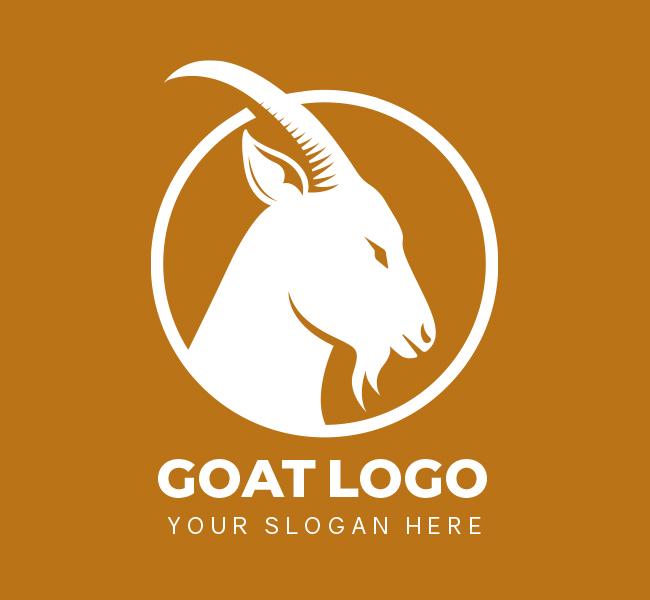 519-Goat-Pre-Designed-Logo