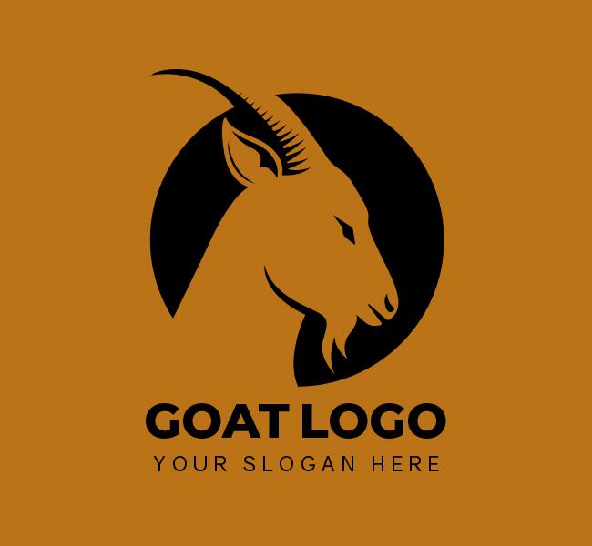 519-Goat-Stock-Logo