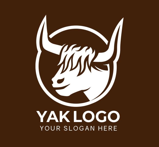521-Yak-Pre-Designed-Logo