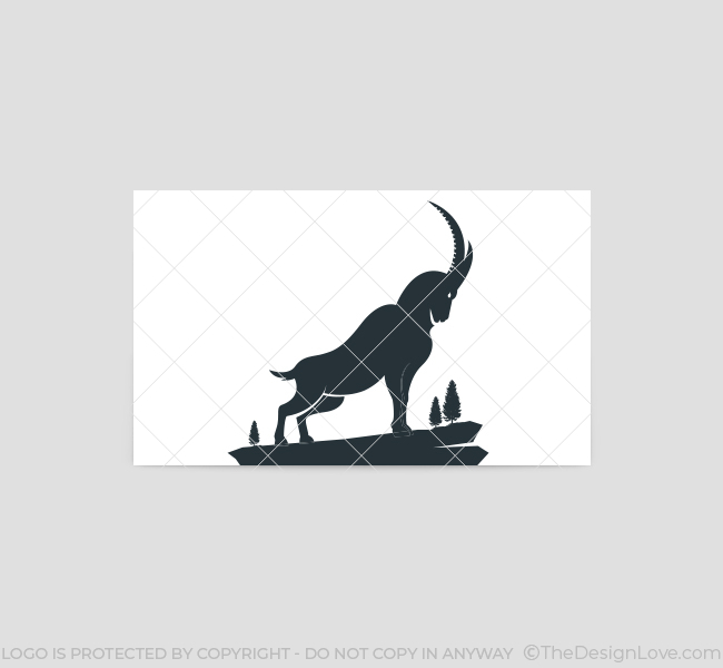 522-Simple-Goat-Business-Card-Back