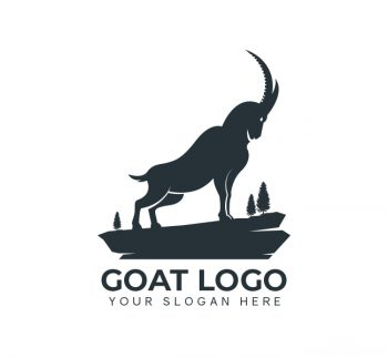 Simple Goat Logo & Business Card