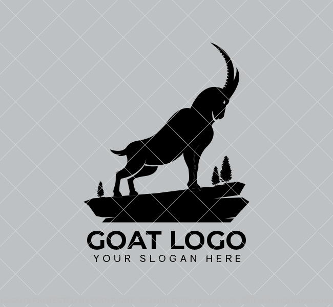 Simple-Goat-Stock-Logo