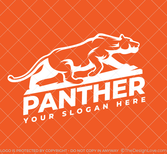 529-Panther-Pre-Designed-Logo