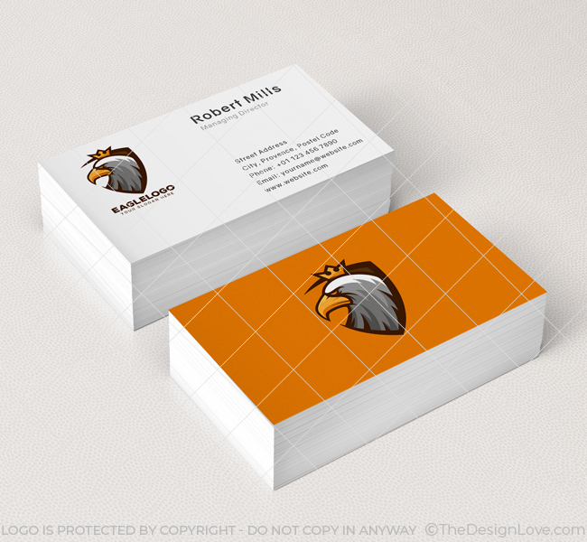 Eagle-Shield-Business-Card-Mockup