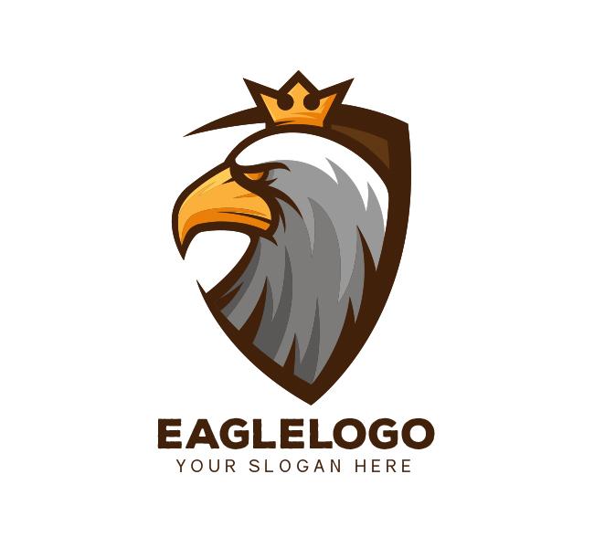 Eagle-Shield-Logo-Template