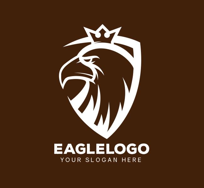 Eagle-Shield-Pre-Designed-Logo