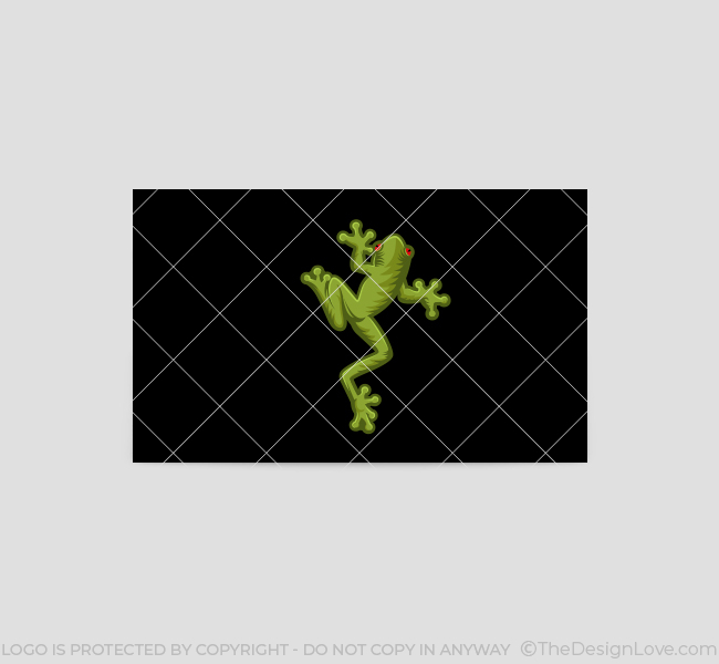 528-Green-Frog-Business-Card-Back