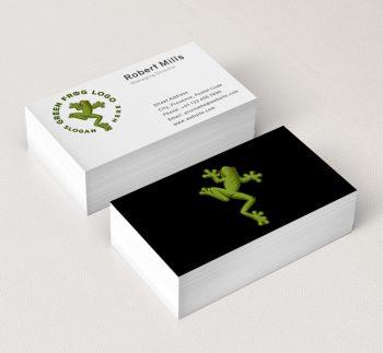 528-Green-Frog-Business-Card-Mockup