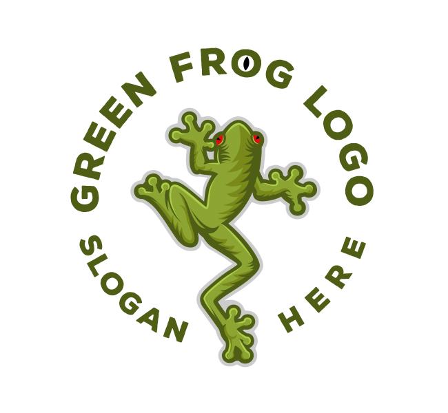 Green-Frog-Logo-Template