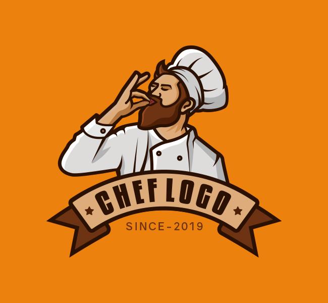 531-Chef-Pre-Designed-Logo