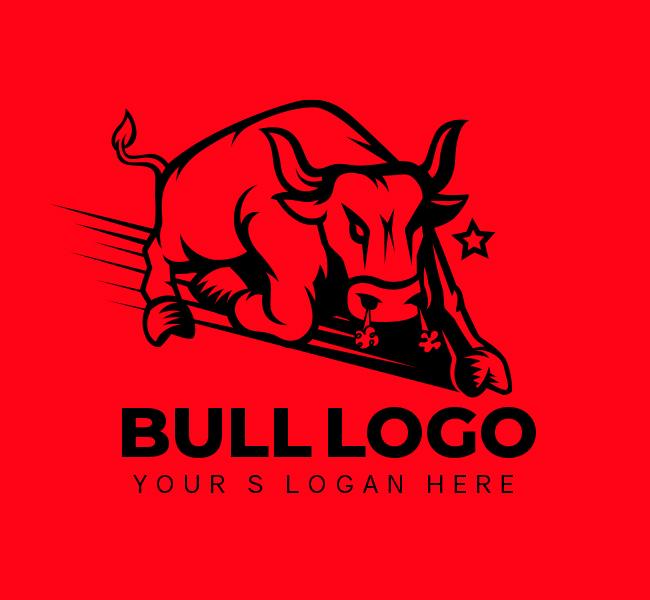 532-Bull-Stock-Logo