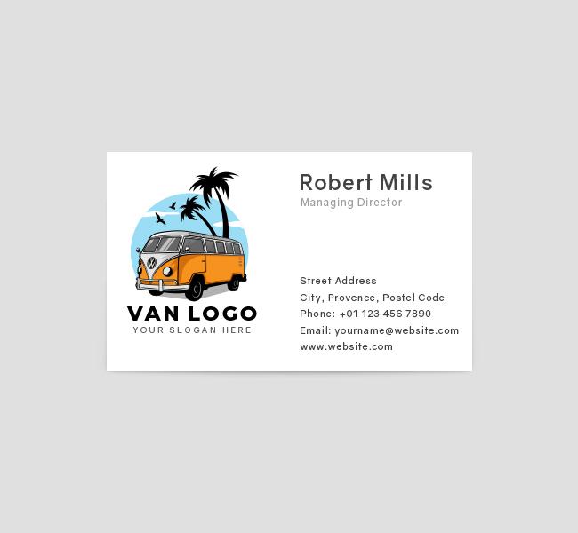 533-Van-Travel-Business-Card-Front