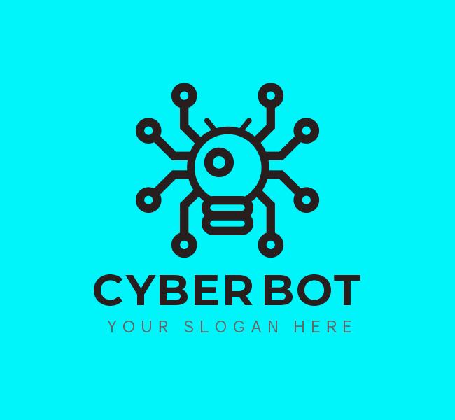 535-Cyber-Bot-Start-up-Logo