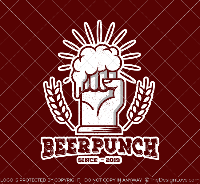 537-Power-Beer-Pre-Designed-Logo