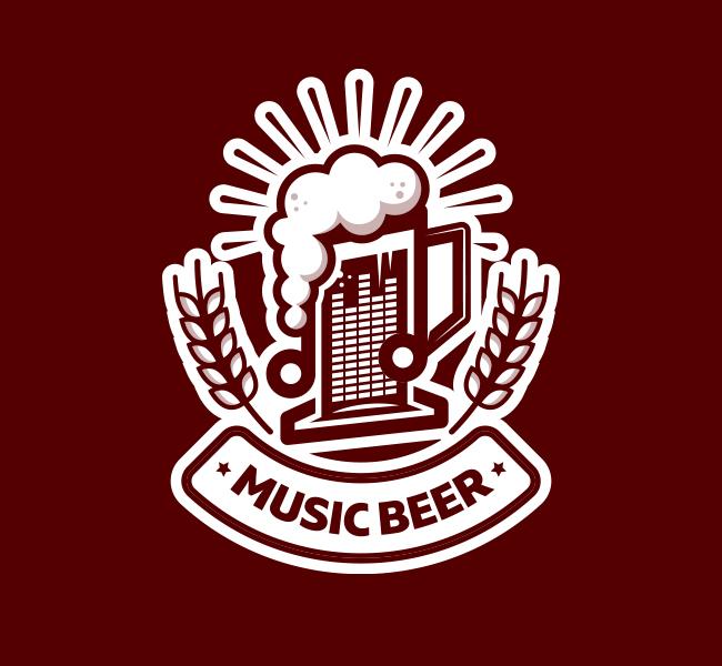 538-Music-Beer-Pre-Designed-Logo