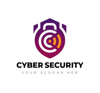 Cyber Security Logo & Business Card