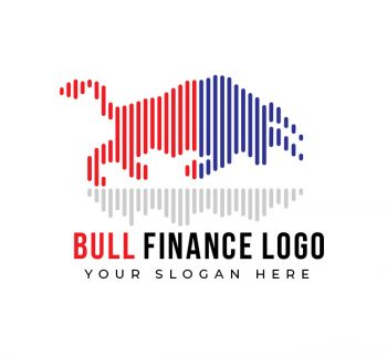 Bull Finance Logo & Business Card