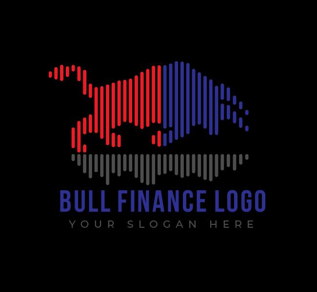 543-Bull-Finance-Stock-Logo