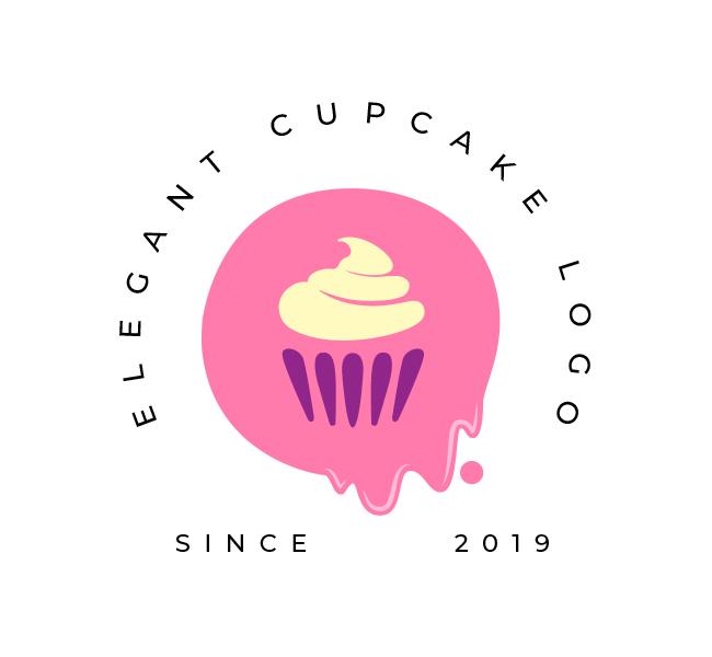 Elegant-Cupcake-Logo