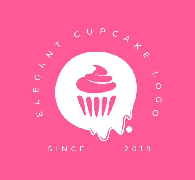 542-Elegant-Cupcake-Pre-Designed-Logo