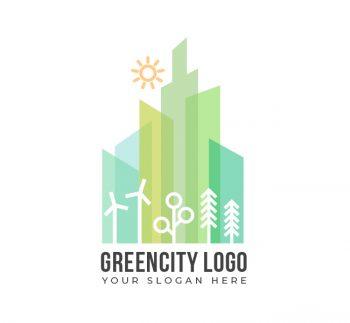 Green City Logo & Business Card