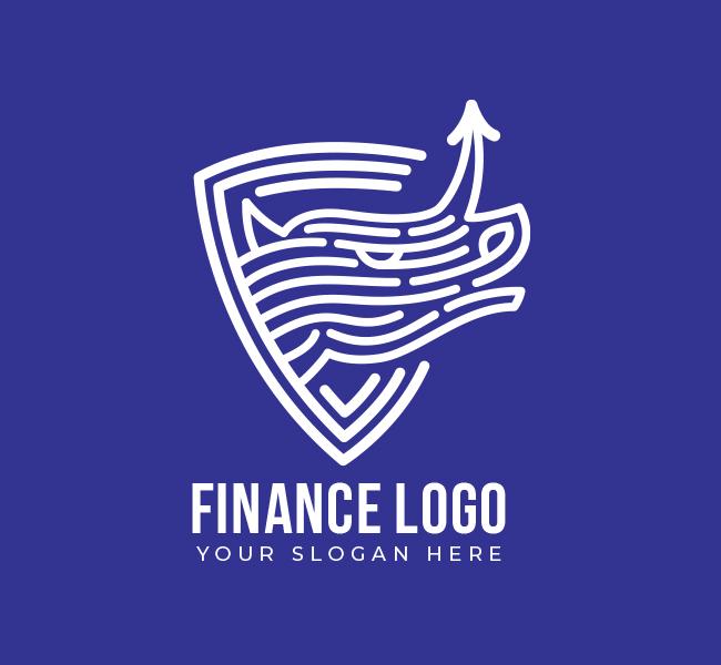 546-Rhino-Finance-Pre-Designed-Logo