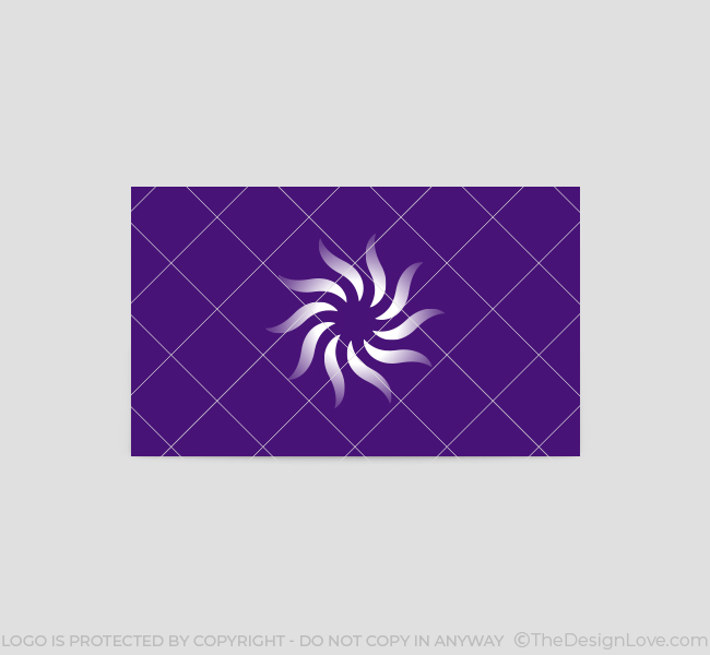 548-Simple-Flower-Business-Card-Front
