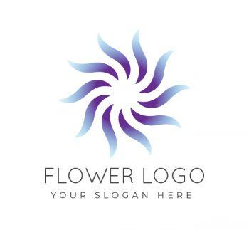 Simple Flower Logo & Business Card