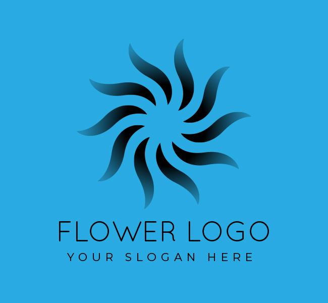 548-Simple-Flower-Start-up-Logo