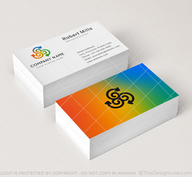 549-Three-Arrow-Business-Card-Mockup