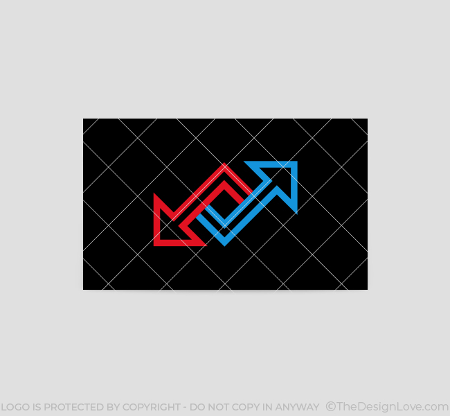 550-Two-Arrows-Business-Card-Back