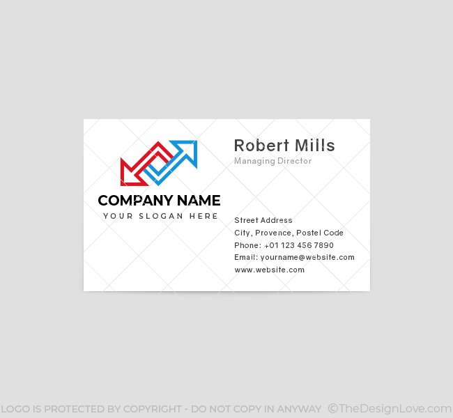 550-Two-Arrows-Business-Card-Front
