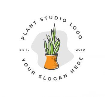 Plant Decor Logo & Business Card