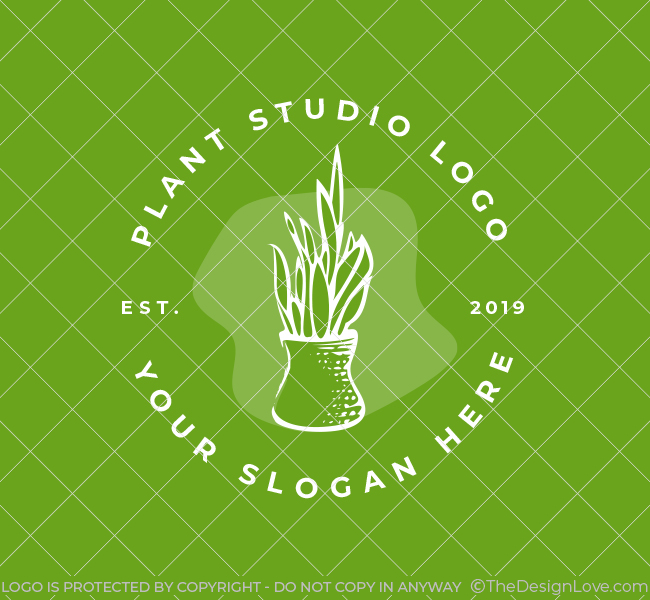 552-Plant-Decor-Pre-Designed-Logo
