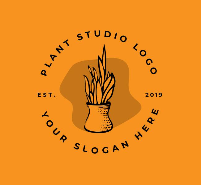 552-Plant-Decor-Start-up-Logo