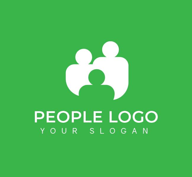 554-People-Pre-Designed-Logo