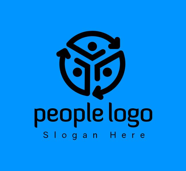 People-Communication-Start-up-Logo