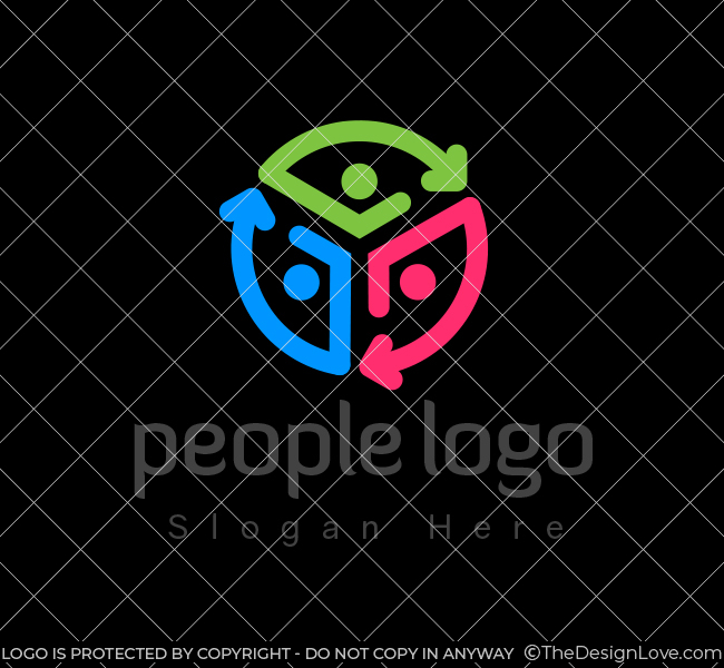 People-Communication-Stock-Logo
