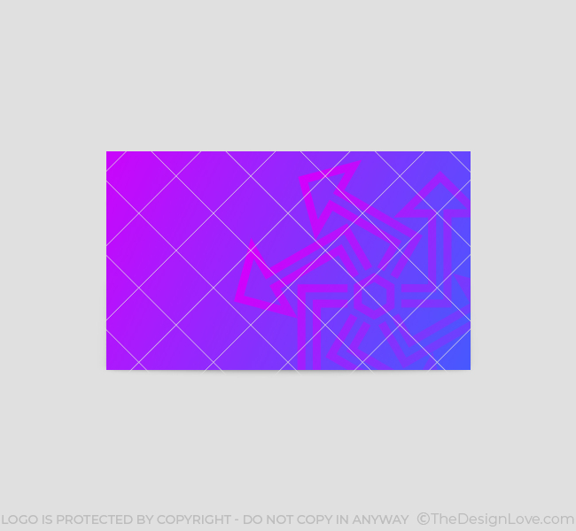 556-Abstract-Arrow-Business-Card-Back